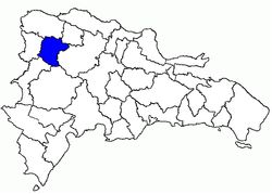 Location of the Santiago Rodríguez Province