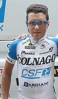 Domenico Pozzovivo Italian racing cyclist