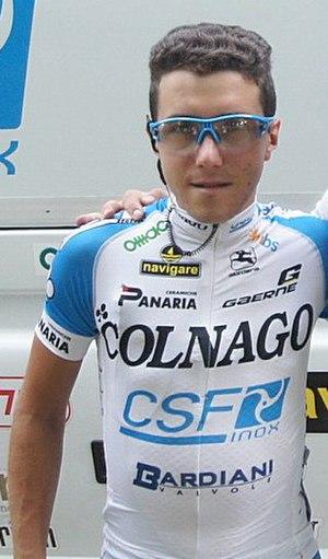Domenico Pozzovivo - Pozzovivo at the 2012 Tour de Pologne