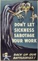 Don't Let Sickness Sabotage Your Work - NARA - 534139.tif