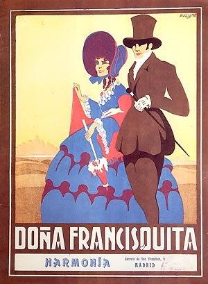 Zarzuela - Poster of Doña Francisquita