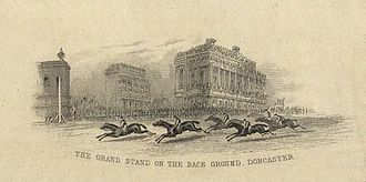 Lord Clifden - Doncaster racecourse, the scene of Lord Clifden's St. Leger victory