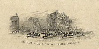 Doncaster Racecourse - 1851 engraving