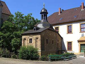 St. Ludger's Abbey - Image: Doppelkapelle Ludgeri