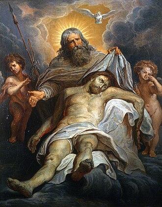Gustave Doré - Image: Dore, Gustave; La Sainte Trinite
