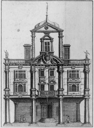 Dorset Garden Theatre - Image: Dorset Garden theatre 1673