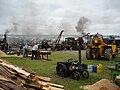 Dorset Steam Fair Sawing Demonstration.JPG