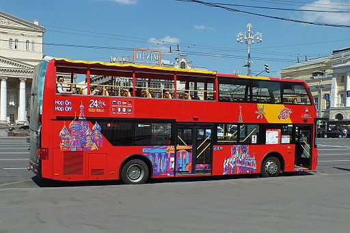 Your Russian Tour Bus 110