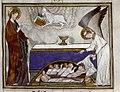 Douce Apocalypse - Bodleian Ms180 - p.017 Receiving white robes.jpg