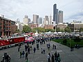 Downtown Seattle from Seahawks venue - panoramio.jpg