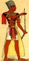 Dräkt, Egyptisk konung, Nordisk familjebok.png