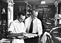 Dr. Irvine Page and Lab Tech 1960s A3112.jpg