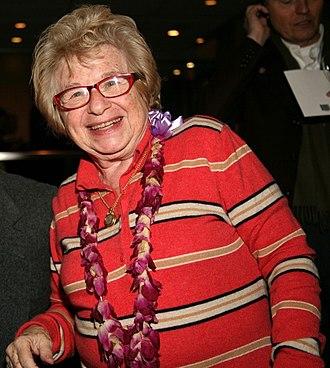 Ruth Westheimer - Dr. Ruth Westheimer in 2009.