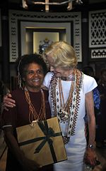 Dr Alice Pollard with Australian Governor General Quentin Bryce (10693514683).jpg