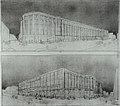 Draft of Central Station, Brussels by Victor Horta.jpg