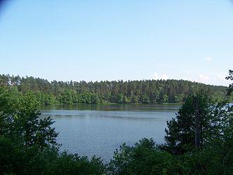 Drawa National Park - Ostrowieckie Lake