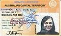 Driver's licence - Australian Capital Territory.jpg