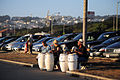 Drummers on Ocean Beach, San Francisco (5814639814).jpg