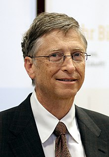 Bill Gates Berlinben 2013-ban