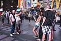 Duelling selfies (18076764389).jpg