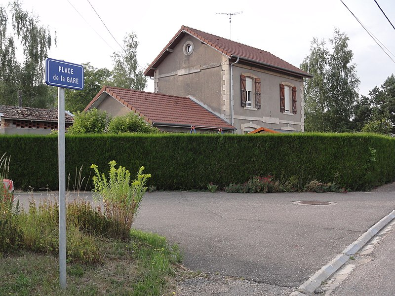 Dugny-sur-Meuse (Meuse) ancienne gare