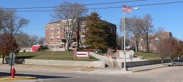 Dundy County, Nebraska courthouse from SE 1.jpg