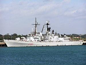 Durand de la Penne-class destroyer - Image: Durand de la Penne D560