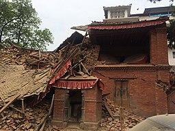 Durbarsquare after earthquake