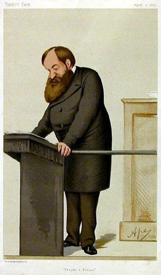 Dwight L. Moody - Dwight Lyman Moody, Vanity Fair, 3 April 1875
