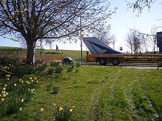 British Aerospace EAP - Image: EAP Leaving Loughborough 1
