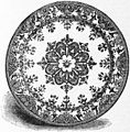 EB1911 Ceramics Fig. 49.—Dish of Rouen enamelled pottery.jpg