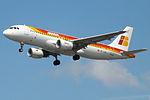EC-LUL A320 Iberia (14807447103).jpg