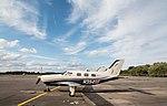 EGLK - Piper PA-46-350P Malibu Mirage - N394SE (42266265240).jpg
