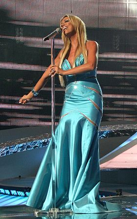 ESC 2008 - Poland - Isis Gee, 1st semifinal cropped.jpg