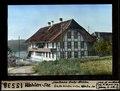 ETH-BIB-Wohlen-See, Schulhaus Unter-Wohlen, links hinten unten Wohlensee-Dia 247-15538.tif