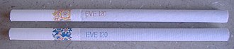 Eve (cigarette) - Unlit Eve and Eve Blue cigarettes, German made