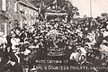 Earl and Countess Poulett 1908 homecoming crowd at Hinton St George, Somerset, England.JPG