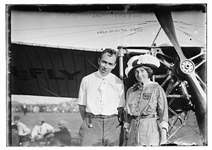 Earle Ovington - Earle Ovington and wife circa 1913