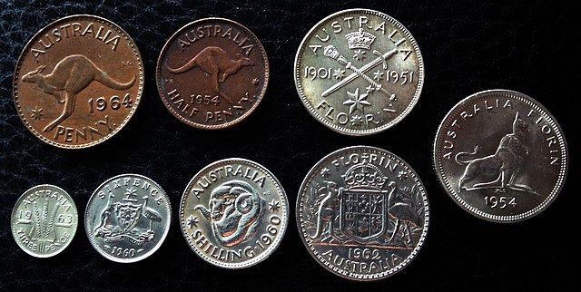 Coins of the Australian pound - Wikiwand