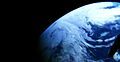 Earth from NASA's Orion spacecraft - signpost crop.jpg
