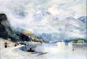 Alfred East - Image: East Lake Maggiore from Stresa