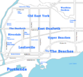 East Toronto neighbourhoods.png