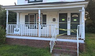 East End (Newport News, Virginia) - Aftermath of an East End Homicide