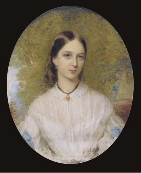 File Easton Reginald 1807 1893 Unit A Young Lady Seated In