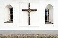 Eberndorf Gablern Filialkirche hll Johannes und Paulus Kruzifix an S-Wand16022015 7522.jpg