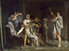 Eduardo Rosales Gallinas - La muerte de Lucrecia
