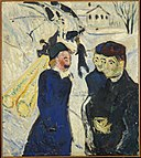 Edvard Munch - People and Timber Transport in a Kragerø Street - MM.M.00284 - Munch Museum.jpg