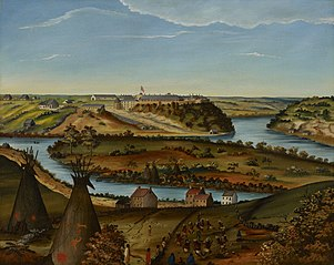 View of Fort Snelling