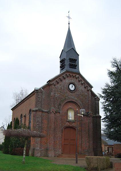 Église de la Nativité-de-la-Sainte-Vierge de Buire (Aisne, Picardie, France)