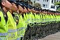 El Gobierno Nacional hace entrega de mil uniformados a la Policia Metropolitana de Cali, en cumplimiento de la politica de seguridad ciudadana (8339369042).jpg